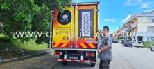 Top Security Smart Security Door  -  Lorry Sticker  lorry sticker Printing