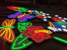 LED neon light signage with PVC foamboard Neon Light Signage