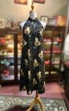 BTK(D)127 Batik & Lace Cut in Maxi Dress Maxi Batik Cheongsam Qipao/Cheongsam Series