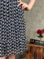 20201 Laced Ruffle Sleeved Dress