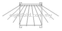 Mobile Apron Hanger MALRAY Lead & Lead Free Apron Radiation Protection Apparels