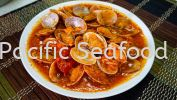 Spicy Clams (340g+-/pkt) Clam Marinated Food