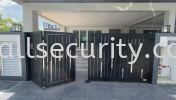 ALUMINIUM TRACKLESS FOLDING GATE Aluminium Trackless Folding Gate Aluminium Gate - i-SmartGate