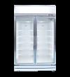 Silver 2 Door Display Freezer (Premium) Freezer Premium Display Series Display Series
