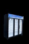Black 3 Door Display Chiller (Standard) Standard Display Series Display Series
