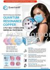 Quantum Resonance Copper 3 PLY Self-Sterilizing Surgical Face Mask Surgical Face Mask  NEW PRODUCTS FOR COVID-19 PREVENTION
