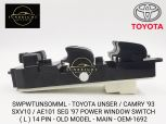 SWPWTUNSOMML -TOYOTA UNSER / CAMRY '93 SXV10 / AE101 SEG '97 POWER WINDOW SWITCH ( L ) 14 PIN - OLD MODEL - MAIN - OEM-1692