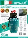 5L HITMAX PRESSURE SPRAYER  AGRICULTURAL TOOLS TOOLS AND EQUIPMENT