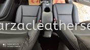 HONDA HR-V SEAT REPLACE FROM FABRIC TO SYNTHETIC LEATHER Car Leather Seat