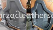 BMW 218I SEAT POCKET SPRAY Car Leather Seat and interior Repairing