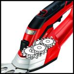 EINHELL CORDLESS GRASS AND BUSH SHEAR MODEL:GE-CG12LI C/W BUILT-IN BATTERY AND CHARGER.