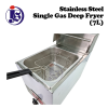 7L Single Gas Deep Fryer Fryer Kitchen Appliances