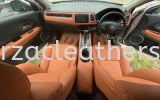 HONDA HR-V FULL SEAT REPLACE FROM FABRIC TO BROWN LEATHER Car Leather Seat and interior Repairing