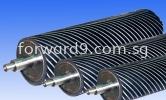 Spiral Roller Specialized Roller Polymer Coating      (PU/ Rubber etc)
