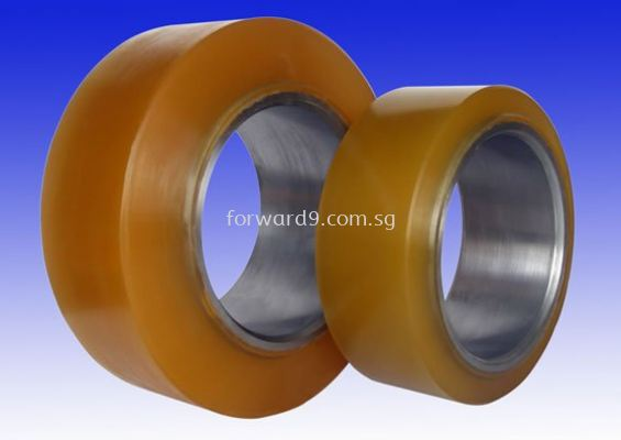 Polyurethane (PU) Wheel (Yellow)
