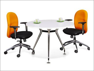 Round Conference Table Abies LEG