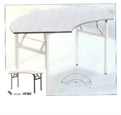 Foldable Cresent Table VFQC
