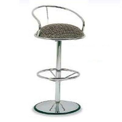 Bar Stool with round chrome base (AIM2-BS)