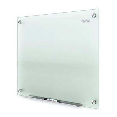 Tempered Glass Writing Board with stainless steel nuts