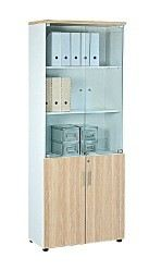 High cabinet with glass AIM2025B
