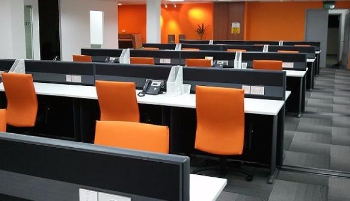 AIM Block system workstation for staff