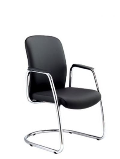 Arona Visitor Chair with Chrome Candilever leg AIM3404L