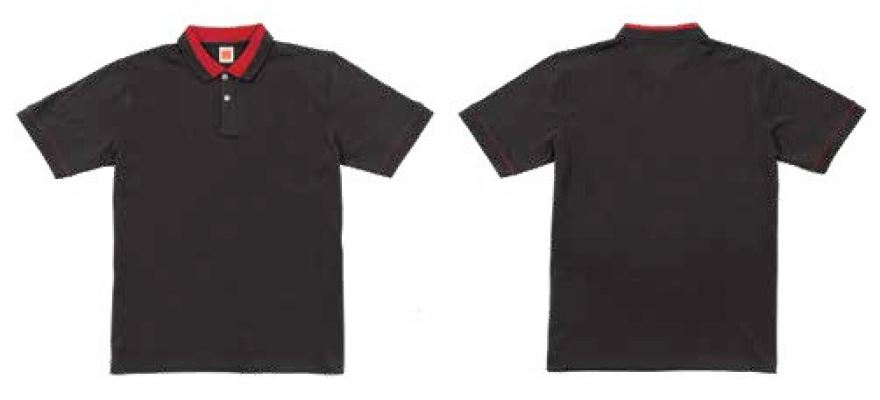CI 1275 - Charcoal,Red