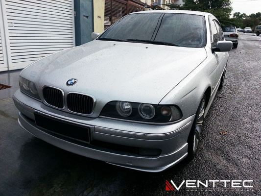 BMW 5-SERIES E39 SEDAN 95Y-03Y = VENTTEC DOOR VISOR