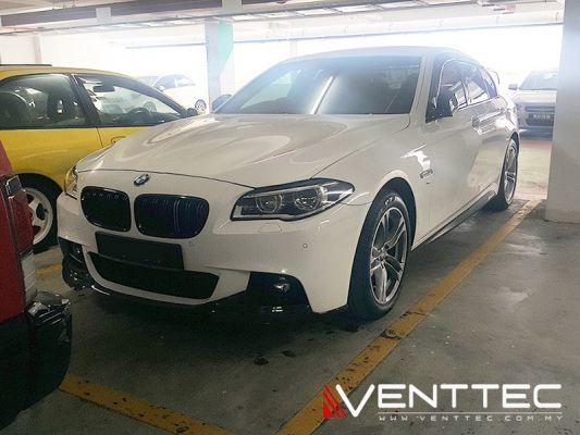 BMW 5-SERIES F10 SEDAN 10Y-16Y = VENTTEC DOOR VISOR