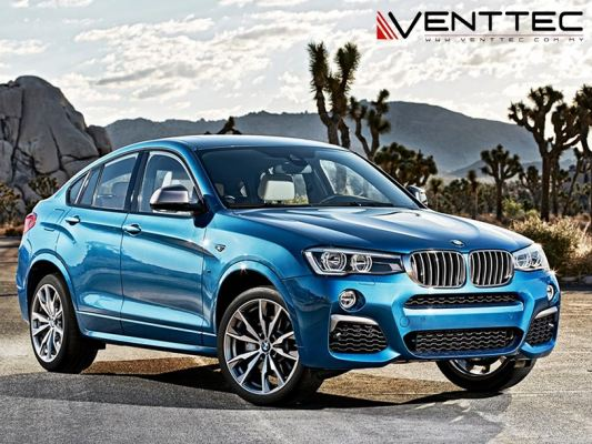 BMW X4 (F26) 14Y-ABOVE = VENTTEC DOOR VISOR
