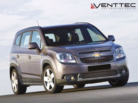 CHEVROLET ORLANDO 11Y-ABOVE = VENTTEC DOOR VISOR
