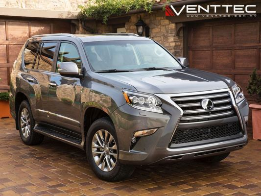 LEXUS GX 460 10Y-ABOVE = VENTTEC DOOR VISOR
