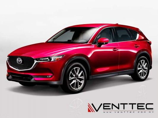 MAZDA CX5 17Y-ABOVE = VENTTEC DOOR VISOR