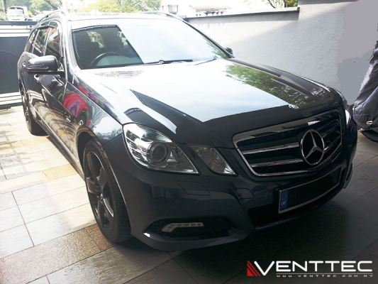 MERCEDES E-CLASS W212 ESTATE WAGON 09Y-16Y = VENTTEC DOOR VISOR
