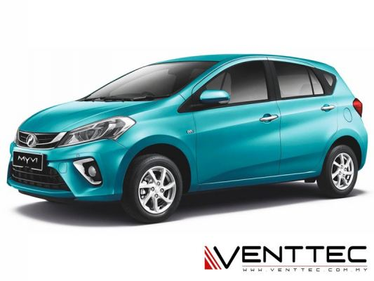 PERODUA MYVI 17Y-ABOVE (4��=100MM) = VENTTEC DOOR VISOR