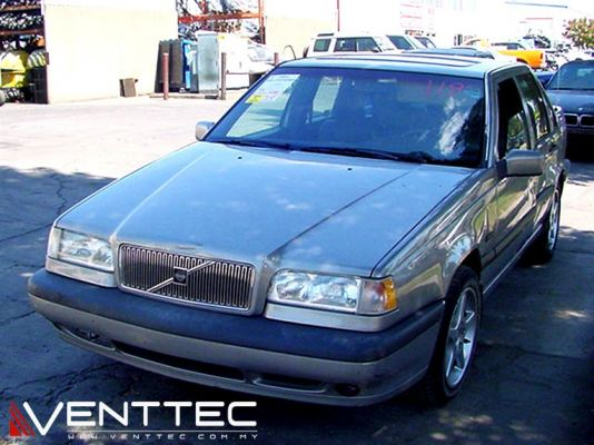 VOLVO 850 SEDAN 92Y-97Y VENTTEC DOOR VISOR / WINDOW VENT VISOR DEFLECTOR