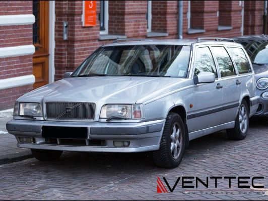 VOLVO 850 STATION WAGON 96Y-97Y VENTTEC DOOR VISOR / WINDOW VENT VISOR DEFLECTOR