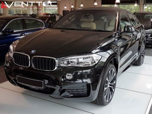 BMW X6 (F16) 15Y-ABOVE = VENTTEC DOOR VISOR