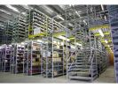 Steel Platform / Mezzanine Floor Heavy Duty Rack Racking System