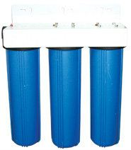 20;quot; Triple Big Flow Housing Filter - Blue