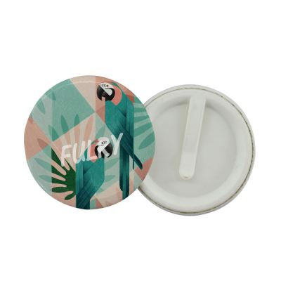 Button Badge Clip 58mm - (50pcs/pack)