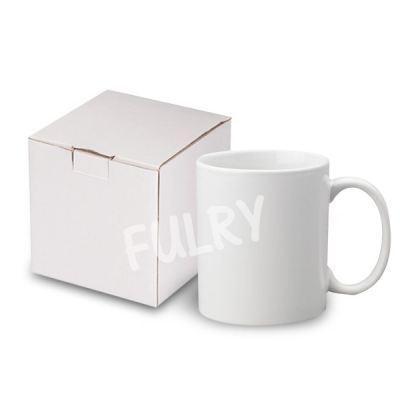 Grade A Sublimation White Mugs with Gift Box - 1 Pc