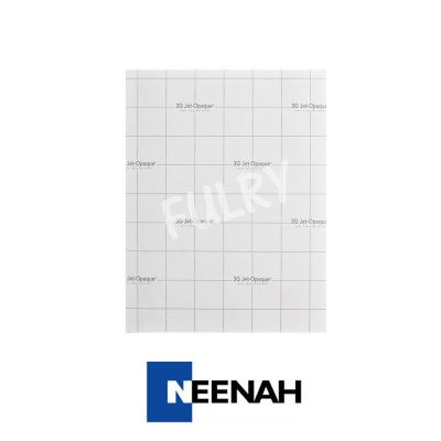 Neenah 3G Jet-Opaque Heat Transfer Paper (Dark Paper) A4 Size - 10 Sheets