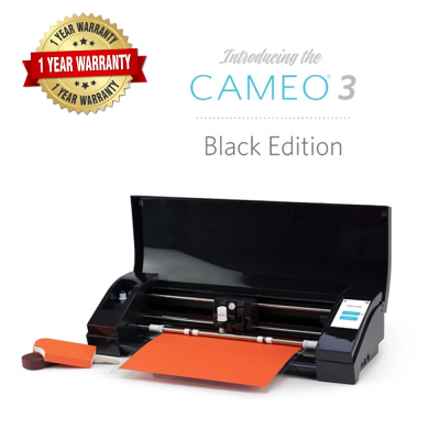 Silhouette Cameo V3 Plotter (Black Edition)