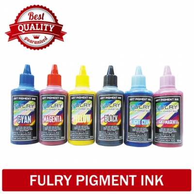Fulry Korea Art Pigment Ink Malaysia (CMYK,LC,LM)