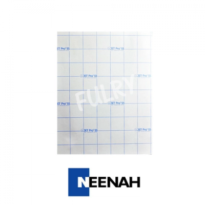 Neenah JetPro SofStretch Transfer Paper (Light Paper) A4 Size - 200 Sheets