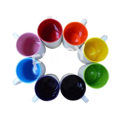 Grade A Sublimation Inner Color Mugs 11oz