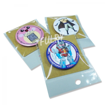 Craft Card Packaging For Button Badge (100pcs/pack)