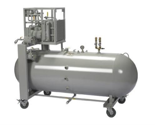 Evac/ASME Refrigerant Recovery and Storage System