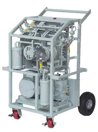 Allvac Universal Refrigerant Recovery Unit